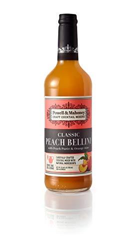 Powell & Mahoney Limited Classic Peach Bellini, 25.36 FL OZ, Pack of 1