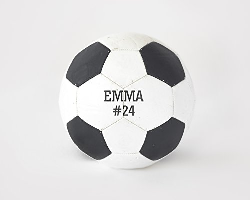 Custom Soccer Image with Name, Personalized Sports Gifts Wall Art (Custom Photo Football)