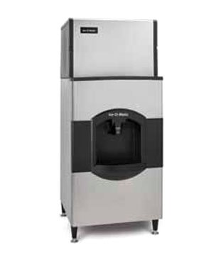"""ICE-O-MATIC CD40130 180 lb 30"""" Wide Hotel Ice and Water D..."""