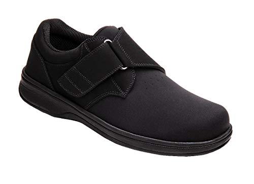 Orthofeet Men's 525 Arthritic Shoes,Black,9 W US (Best Footwear For Arthritic Feet)