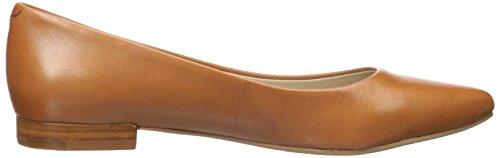 G.H. Bass Co. Women's Kayla Pointed Toe Flat Cognac fvhARksD