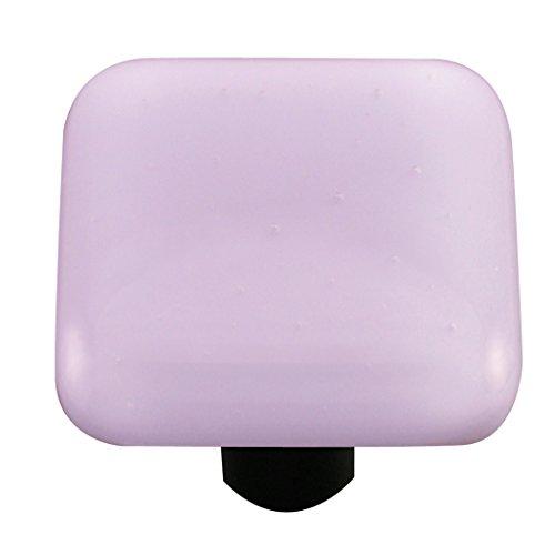 Aquila Art Glass HK1035-KA Solid Color Collection Knob, Neo-Lavender Shift ()