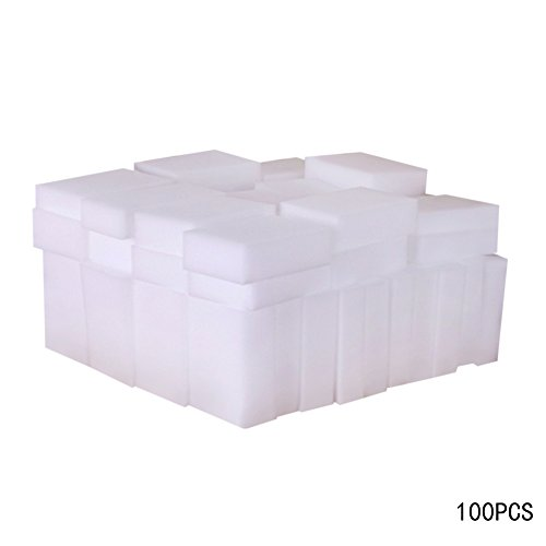 Vanpower 100pcs Cleaner Eraser Melamine Multi-functional Magic Sponge for...
