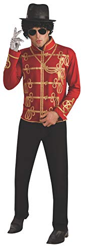 Rubie's Men's Michael Jackson Value Red Military Costume Jacket, AS SHOWN, Medium -