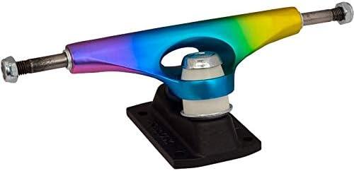 Krux DLK Trucks Krome Matte Rainbow Standard Skateboard Trucks Multi 8