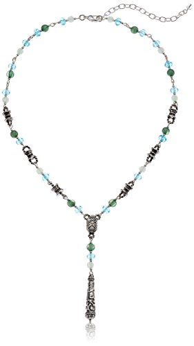 - Napier Women's Multi-Colored Y Shaped Beaded Necklace