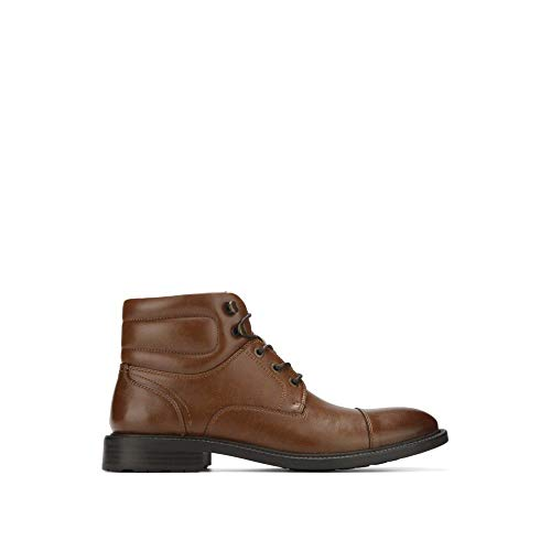 - Reaction Kenneth Cole Roll with It High-Top Boot Cognac