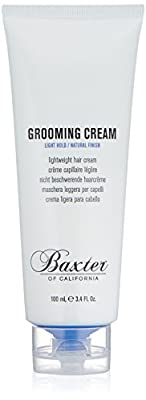 Baxter of California Grooming Cream, Hair Styler for Men, 3.4 oz