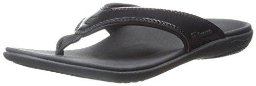 Spenco Women's Yumi Sandal, Black, 7 M US