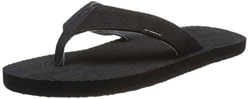 O'Neill Mens FTM KOOSH Flip Flop Sandles Black (Black Out) rKcOR