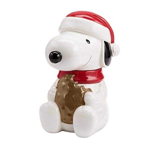 Hallmark 6MJC3003 Snoopy Cookie Jar with Sound, one size, White