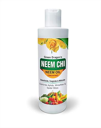 Green Dragon's NEEM CHI Organic Plant Protection From Pests and Diseases – Makes 50 Ltr Ready to Spray