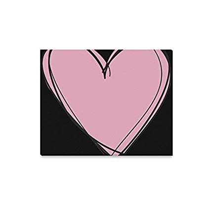Sensational Amazon Com Wall Art Painting Hearts In A Row Tumblr Clipart Download Free Architecture Designs Scobabritishbridgeorg