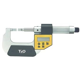 "T/&O TEBM-01 0-1/"" Electronic Blade Type Micrometer"