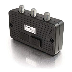 Steren Coaxial - STEREN 2-Way Coaxial A/B Switch - 200-315