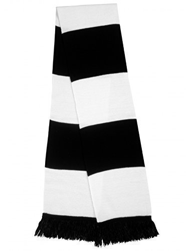 Result Men's Retro Style Football Rugby Bar Scarf by Result