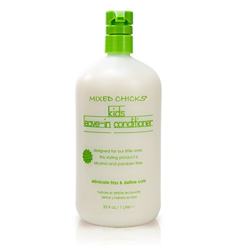 Mixed Chicks Kids Leave In Conditioner, White, 33 Ounce