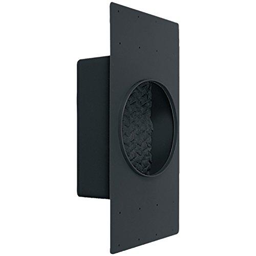 """Emphasys EM0001600 6.5"""" In-Ceiling Sound Enclosure Black"""