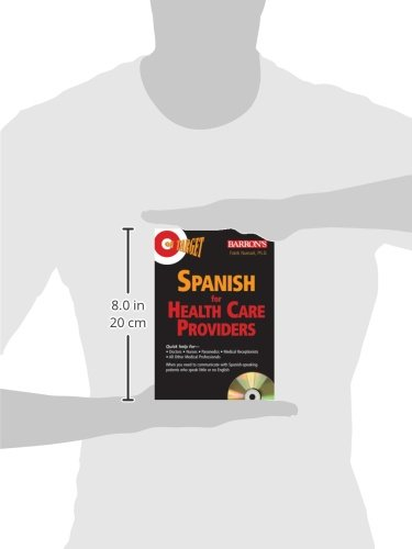 On Target: Spanish for Healthcare Providers (On Target Audio CD Packages) by Barron's Educational Series