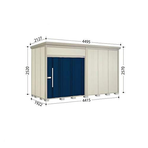 タクボ物置 JN/トールマン JN-S4419 多雪型 標準屋根 『屋外用中型大型物置』 ディープブルー B07MTZWSCT