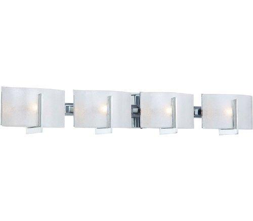 Minka Lavery 6394-77, Clarte, 4 Light Bath Fixture, Chrome well-wreapped