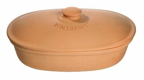Römertopf 810 05 Brottopf oval, terrakotta