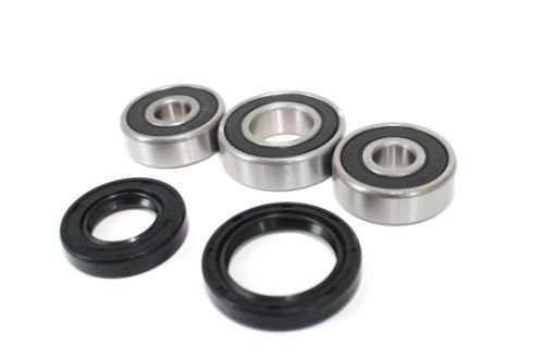 Rear Wheel Bearings and Seals Kit Yamaha PW80 1983 1984 1985 1986 1987 1988 1989