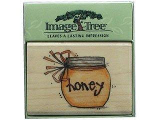 Image Tree Rubber Stamp - Honey ()