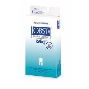 PACK OF 3 EACH JOBST 114624 RELIEF KNEE CT FC XL 20/30 PT#35664146245