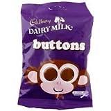 Cadbury Dairy Milk Buttons, 6 Pack