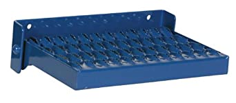 "Vestil SFS-149 Manual Serrated Fold Up Step, Steel, 14-11/16"" Width, 10-1/4"" Depth, 350 lbs Capacity"