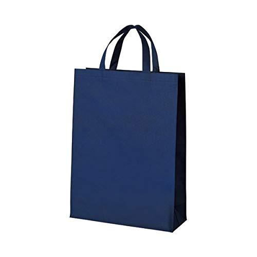 (まとめ)スマートバリュー 不織布手提げバッグ中10枚 ブルー B451J-BL【×30セット】 生活用品 インテリア 雑貨 文具 オフィス用品 袋類 その他の袋類 14067381 [並行輸入品] B07R92B1HG