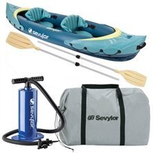 Person Inflatable Canoe 2 - Coleman Clear Creek 2-Person Kayak Combo