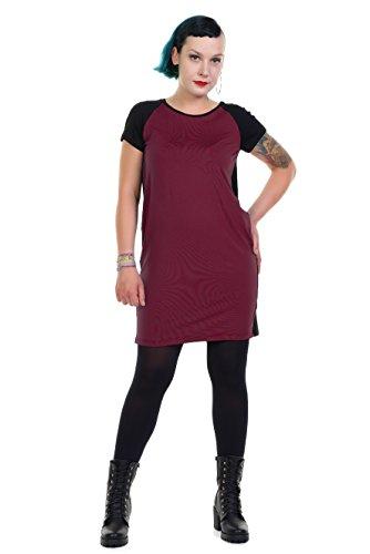 Designed Berlin Jerseydress In Bordeaux O 3Elfen Dress Made by w0UtBaBq