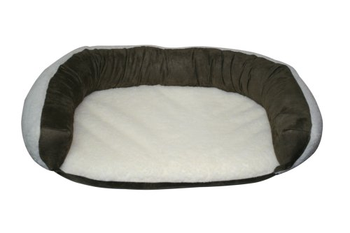 (Casual Pet Products Reversible Bolster Bed, Large)