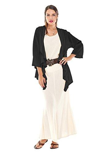 d4da25cc5c3 Oh My Gauze Women s Kendra Jacket One Size Black