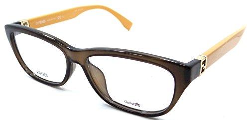 43a0c6aae7 Fendi Rx Eyeglasses Frames FF 1006 F 7QQ 53-14-135 Brown