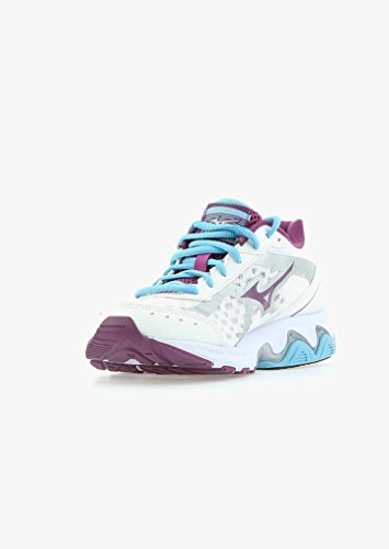 Mizuno - Wave Wave Advance - J1GF144961 - Color: Blanco-Violeta - Size: 38.0