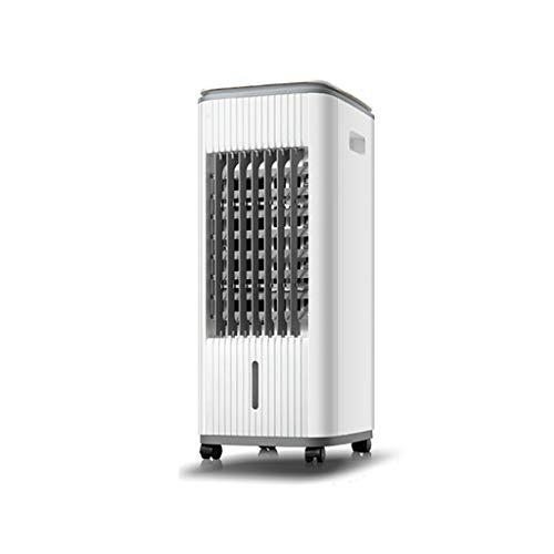 31k6yVoX4nL. SS500 ※ 【Enfriador de aire de alta eficiencia】 El enfriamiento del aire se logra evaporando el agua / hielo en el tanque de agua de 3L del evaporador, y humedeciéndolo y limpiándolo para mejorar el clima interior. ※ 【Uso continuo】 El aire acondicionado portátil, 3 tipos de ajustes de velocidad del viento, suministro de aire gran angular de 60 grados, puede distribuir uniformemente el aire frío en interiores. ※ 【Control remoto】 Con un control remoto, puede controlar los ajustes de potencia, temporizador y velocidad del viento de todos los enfriadores de aire desde cualquier lugar de la habitación.