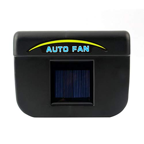 ROPALIA Solar car Exhaust Fan Car Ventilation Fan Car Ventilator Cooler car Radiator Vent