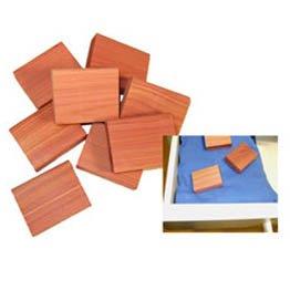 Cedar America Aromatic Cedar Scent Blocks, 24 pieces
