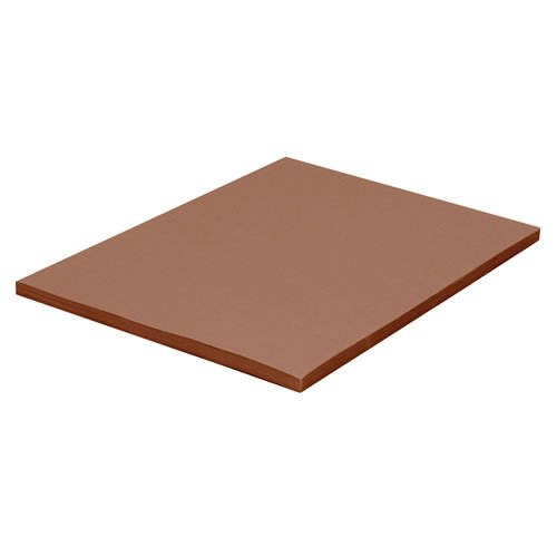Brown Construction Paper (Pacon Tru-Ray Construction Paper, 9-Inches by 12-Inches, 50-Count, Warm Brown (103025))