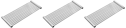 Music City Metals 56S23 Stainless Steel Tubes Cooking Grid Set Replacement for Select Gas Grill Models by Kenmore, Kmart and Others (Patio Set Kmart Bar)