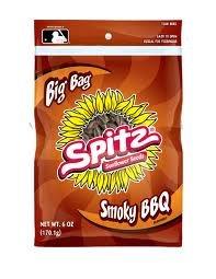 Spitz Smoky BBQ Flavored Sunflower Seeds 6 ounce Resealab...