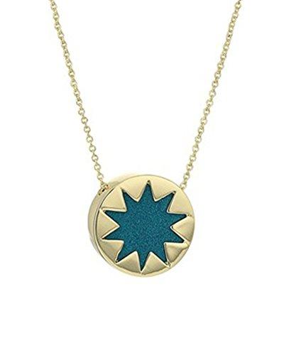 House of harlow grey mini sunburst pendant necklace hintfeed zoom images aloadofball Images
