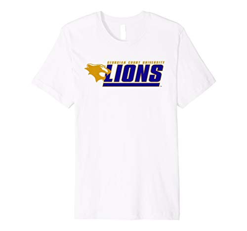 Georgian Court University Lions NCAA T-Shirt PPGCTU02 ()