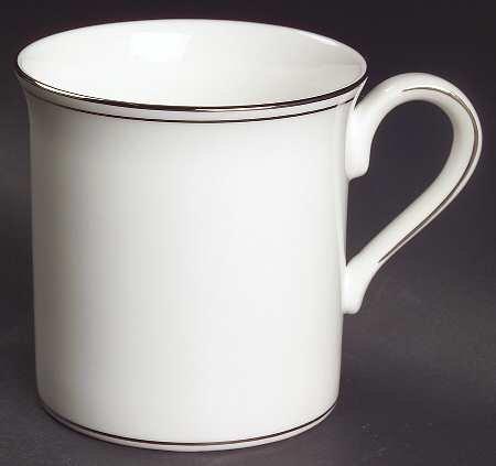 Lenox Federal Platinum Mug, Fine China Dinnerware