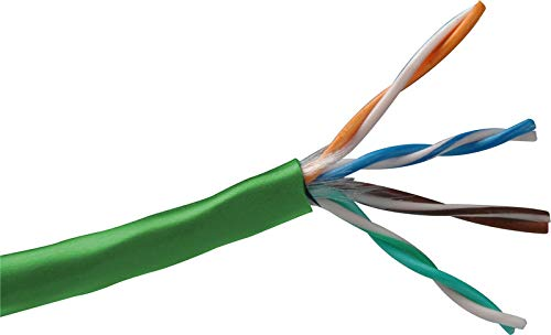 Belden 1583A Cat-5E Twisted Pair Cable 1000Ft Roll Green