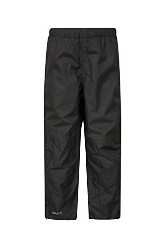 Mountain Warehouse Spray Kids Waterproof Rain Pants -for Boys & Girls