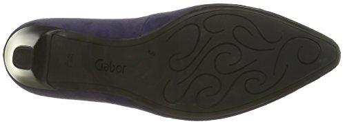 Gabor Women's Forest Closed-Toe Pumps Purple (Dark-purple 13) 4JDdi3SJ